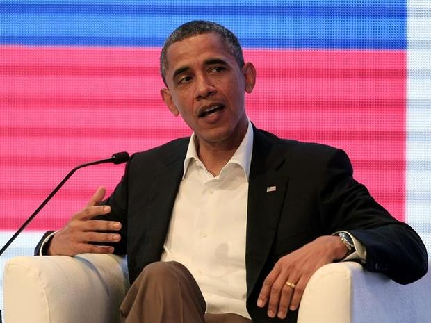 O presidente Barack Obama durante a Cúpula das Américas (Foto: EFE)