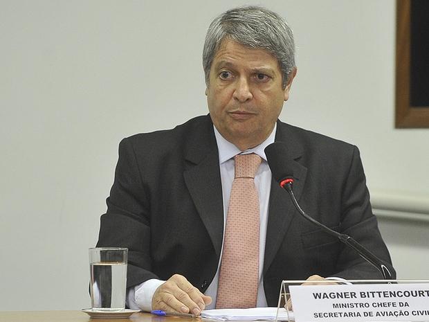 Wagner Bittencourt , ministro chefe da Secretaria de Aviação Civil (Foto: Antonio Cruz/ABr)
