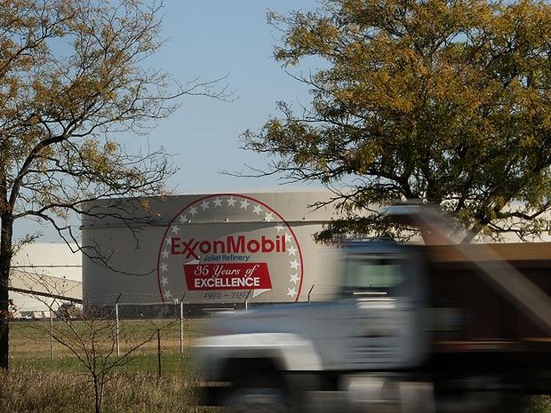 Refinaria da Exxon Mobil nos EUA (Foto: Getty Images)