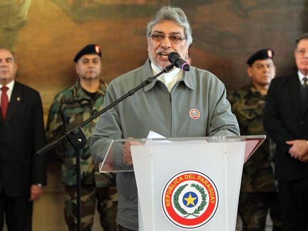 Fernando Lugo, presidente do Paraguai (Foto: EFE)