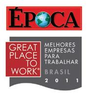 Great Place to Work - Melhores Empresas para Trabalhar - Brasil 2011 (Foto: Revista Época / reprodução)