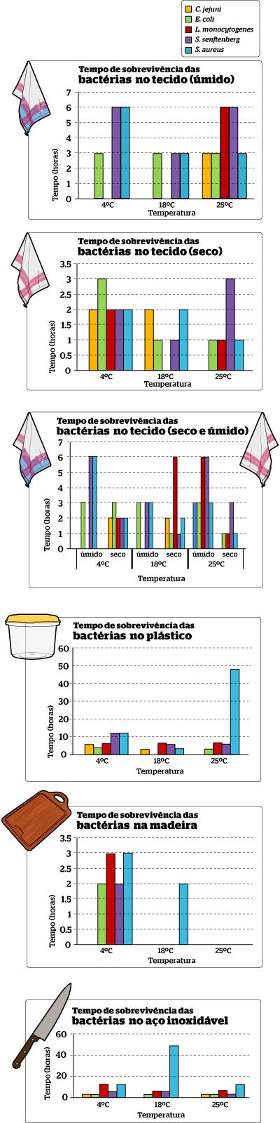 Quanto tempo sobrevivem as bactérias (Foto: Gustavo Campoy)