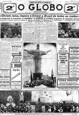 06be0ca3da3 Revista Época - Os 80 anos do Cristo Redentor - fotos em Cultura
