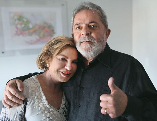 TRANSPARÊNCIA Lula e Marisa, no Sírio-Libanês, onde gravaram um vídeo para agradecer o apoio recebido. Lula determinou que os médicos não escondessem nada (Foto: Ricardo Stuckert/Instituto Lula)