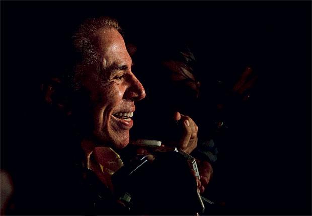 A alegria de Silvio Santos (Foto: Daniel Marenco/Folhapress )