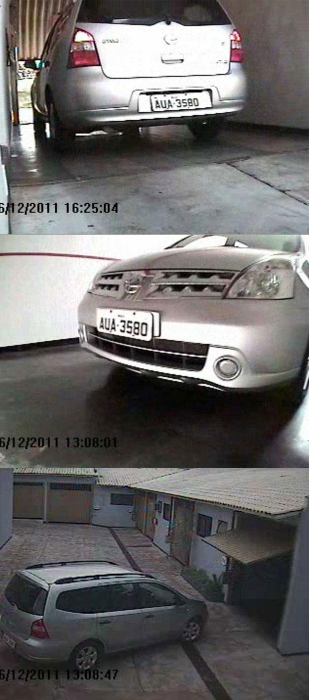Imagens do carro Livina da Unila  (Foto: Reprodução)