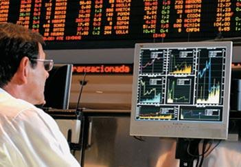 Bovespa sobe com desempenho da Vale, de bancos<br/>e de NY (Foto: Agência O Globo)
