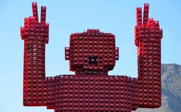 Gigante Coca-Cola 01 (Foto: Foto: reprodução)