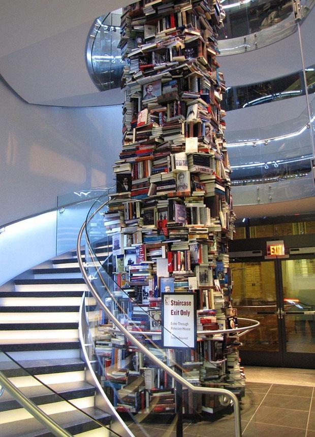 torre_livros_abrahan_lincoln_08 (Foto: divulgação)