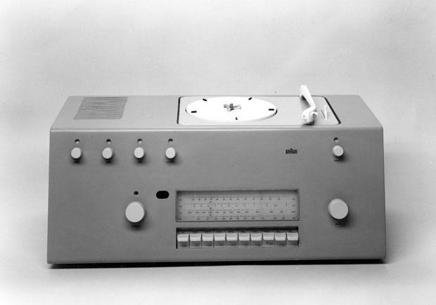 Braun AG Studio 1, rádio-gravador. Design de Hans Gugelot and Herbert Lindinger, 1956 (Ulmer Museum, HfG–Archiv, Ulm) (Foto: divulgação)