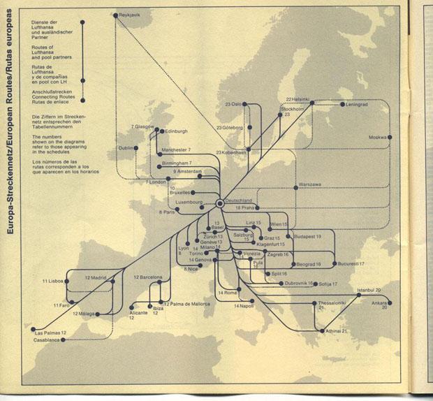 Identidade corporativa da companhia aérea alemã Lufthansa (Foto: divulgação)