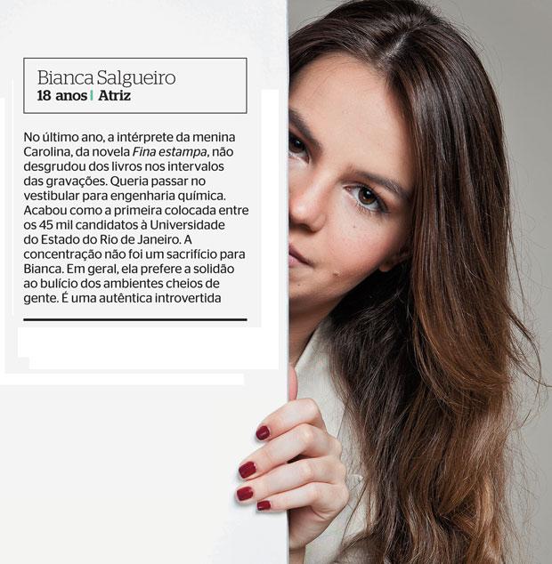 Bianca Salgueiro (Foto: Tomás Rangel/ÉPOCA)