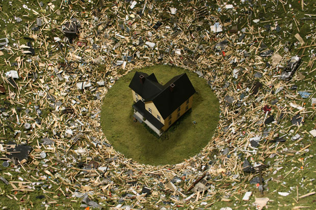 miniaturas_catastrofe (Foto: Foto: divulgação)