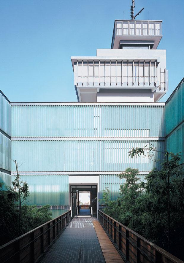Museu de Arte Contemporânea de Ningbo, China, 2001-2005