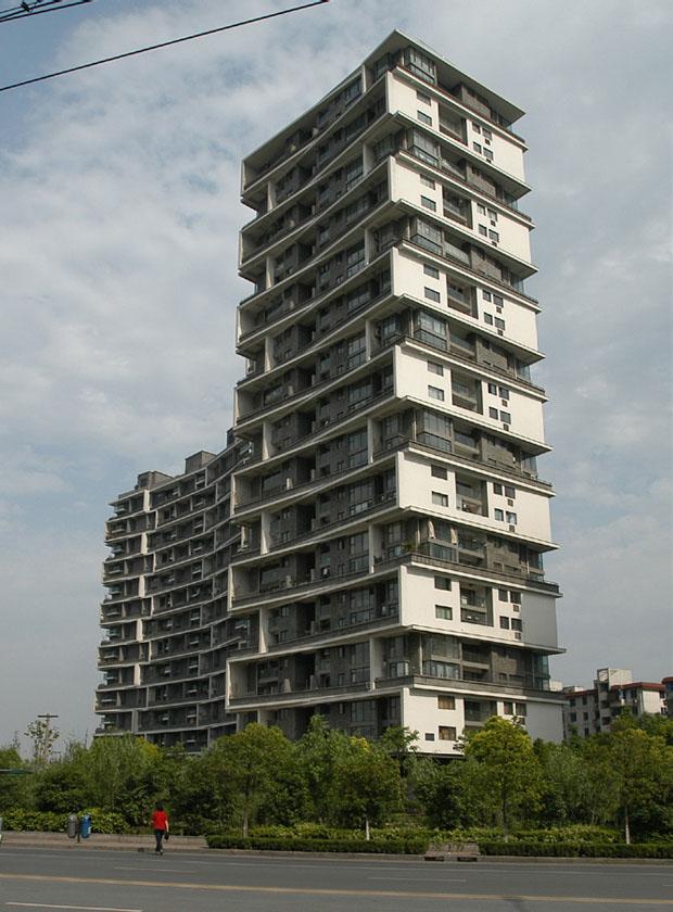 Edifício residencial, Hangzhou, China, 2002-2007