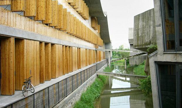 Campus da Academia de Arte de Xiangshan, Hangzhou, China, Fase 2, 2004-2007