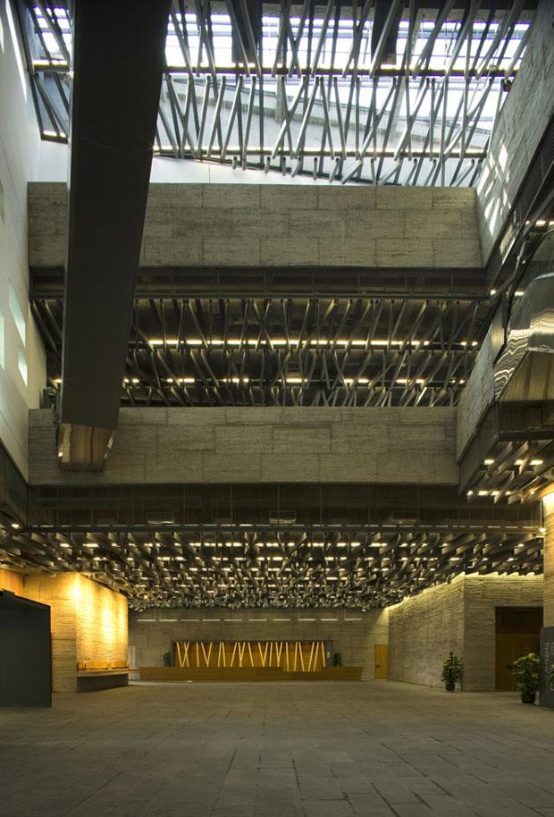 Museu de História de Ningbo, China, 2003-2008