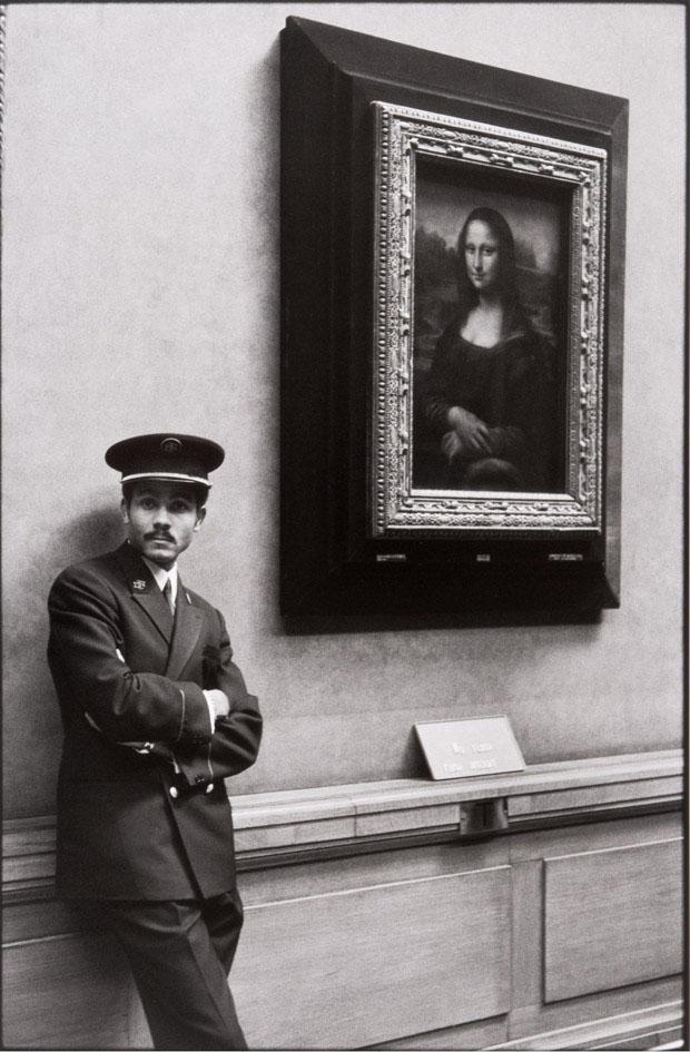 Mona Lisa, Museu do Louvre, de Alécio de Andrade, Paris, 1971 (Foto: Alécio de Andrade)