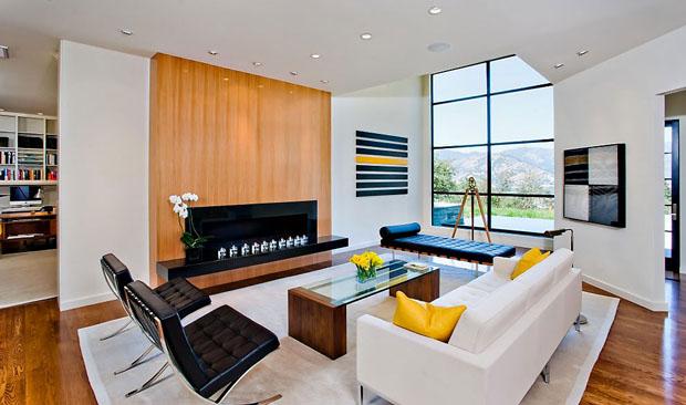 D Cor Do Dia Lareira Cores E Design Casa Vogue Interiores