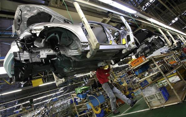 Nissan linha de produção (Foto: Getty Images)