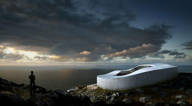 Projeto da futura Galeria Nacional de Arte da Groenlândia