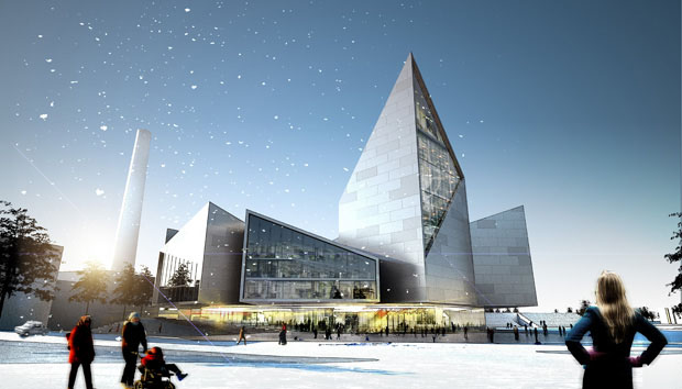 Projeto de futuro Centro Cívico de Tallinn, Estônia