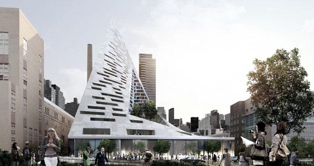 Projeto do futuro edifício West 57, em Nova York