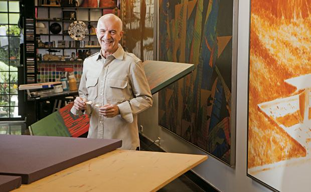 NEWTON MESQUITA Artista plástico. Foi diretor do Museu da Imagem e do Som, em São Paulo. Também foi secretário adjunto da Cultura do Estado de São Paulo (Foto: Marcelo Min/Fotogarrafa/ÉPOCA)