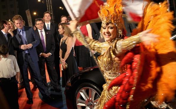 Príncipe Harry, em visita ao Brasil para promover economia do Reino Unido (Foto: Getty Images)