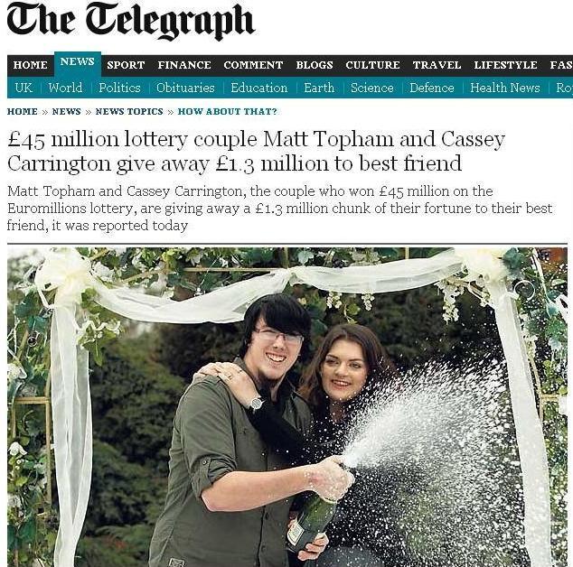 Casal de milionários (Foto: Internet / Reprodução)