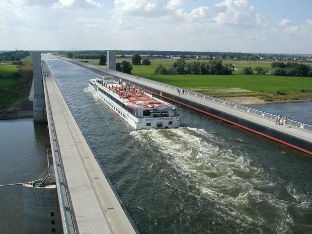 Ponte navegável (Foto: divulgação)