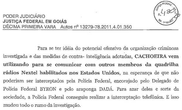 Decisão da Justiça Federal em Goiás fala sobre o uso dos rádios adquiridos nos Estados Unidos (Foto: Reprodução)