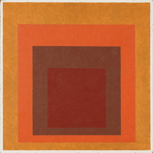 Affectionate (Homage to the Square), Josef Albers, 1954