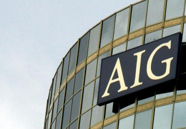 Logo AIG Seguradora (Foto: Reprodução Internet)