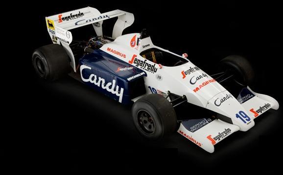 Carro Ayrton Senna (Foto: Internet / Reprodução)