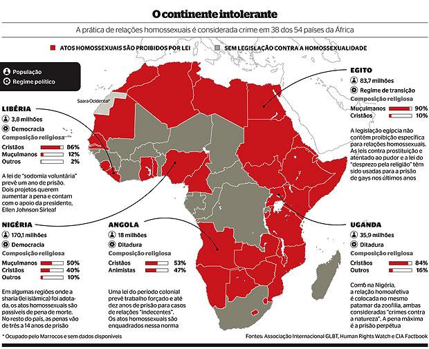 O continente intolerante (Foto: reprodução)