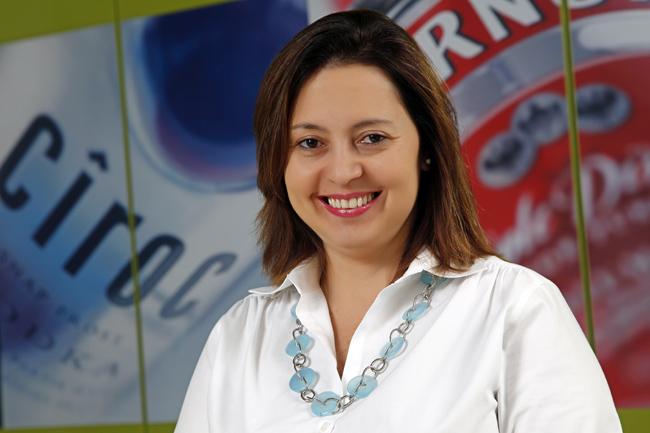 Tânia Cesar, diretora executiva de marketing na Diageo para Paraguai, Uruguai e Brasil (Foto: Divulgação)