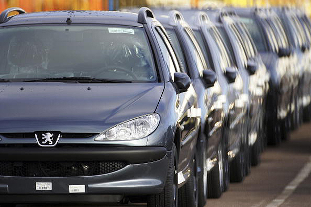 Fábrica da Peugeot Carro da Peugeot (Foto: Getty Images)