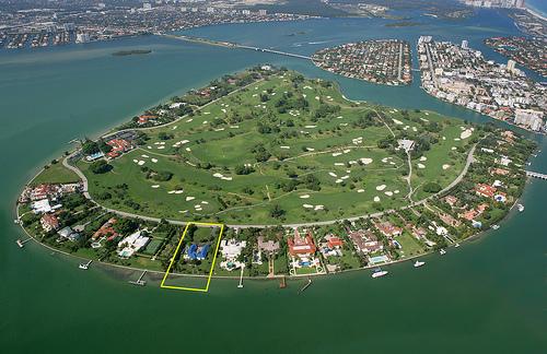 Indian Creek, ilha exclusiva ao norte de Miami (Foto: Divulgação)