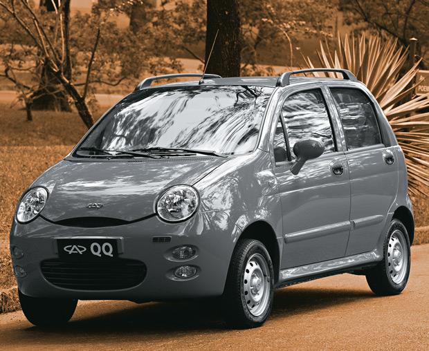 O compactíssimo QQ triplicou as vendas da montadora chinesa Chery no Brasil (Foto: Divulgação)
