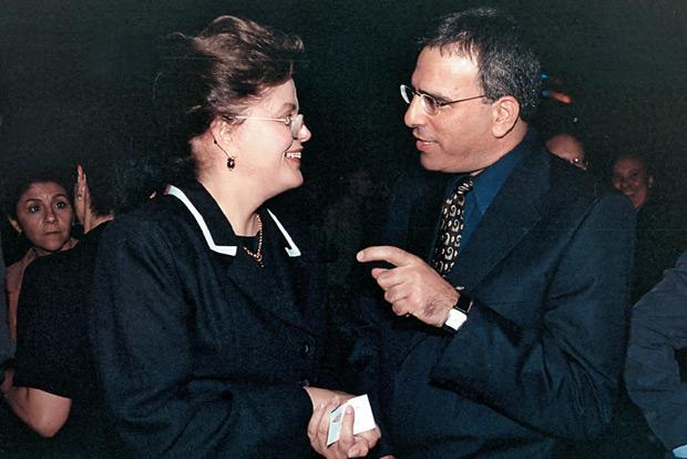 Ainda no governo gaúcho, Dilma foi dura nas negociações com Genish. Era uma prova de fogo para um israelense que não sabia falar português (Foto: Divulgação)