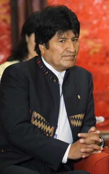 Evo Morales, presidente da Bolívia (Foto: Getty Images)