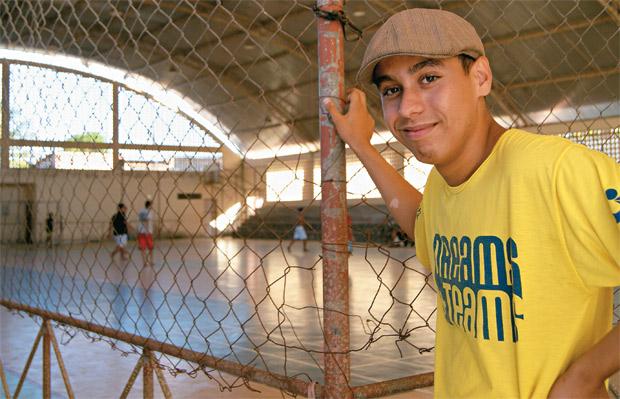 LUAN CELI Estudante universitário alagoano. Será o único brasileiro a participar do revezamento da tocha olímpica na abertura da Olimpíada de Londres  (Foto: Marina Ferro/ÉPOCA)