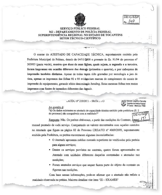 Documento Delta (Foto: reprodução)