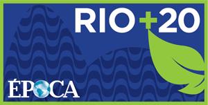 Logo do Rio+20 (banner) (Foto: ÉPOCA)