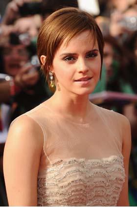A atriz antes do aplique (Foto: Getty Images)