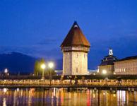 A geometria da Torre da Água e uma caminhada por Lucerna