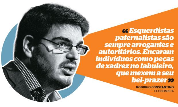 Rodrigo Constantino (Foto: Marcos Alves/Ag. O Globo)