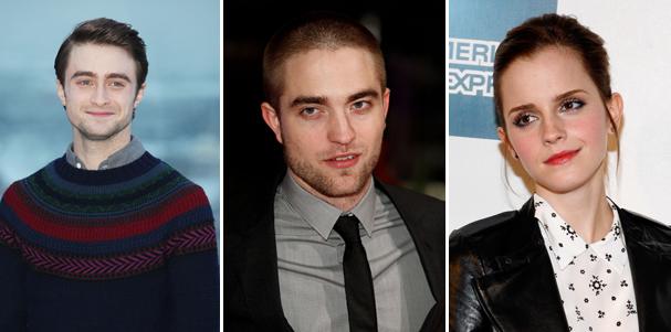 Daniel Radcliffe, Robert Pattinson e Emma Roberts entre os ricos mais jovens no Reino Unido (Foto: Getty Images)