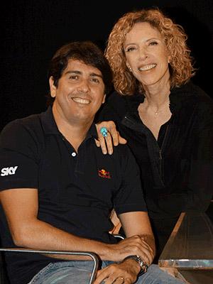 Cacá Bueno falou sobre vida e carreira a Marília Gabriela (Foto: Carol Soares/SBT)